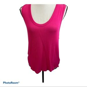 NWT free people fuchsia take the plunge knit top S